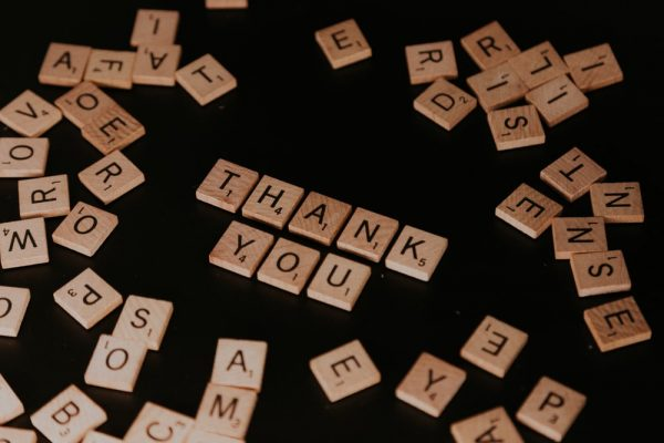 Thankfulness Lights the Way